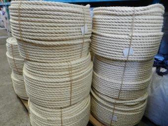 sisal/8mm/220mtr                                   A-KWALITEIT !